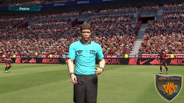 PES 2017 Real Referee Kits by DrDoooMuk