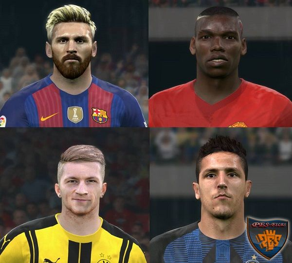 PES 2016 New facepack 2016/17 by Jonathan