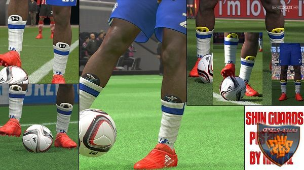 PES 2017 Shin Guards by hawke