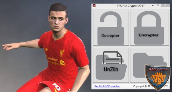 PES 2017 File Crypter Tool v2 by Devil Cold52