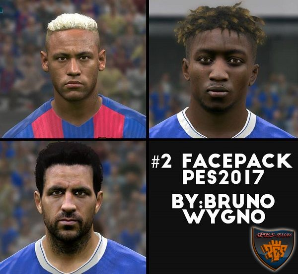 PES 2017 Facepack #2 by Bruno Wygno