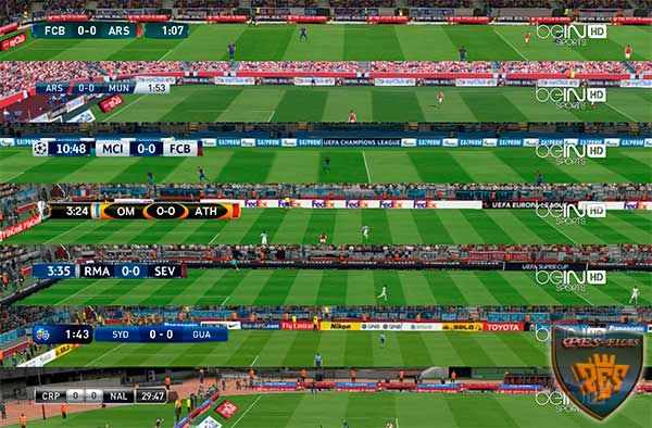 Default Scoreboards + TV Logo PES 2017