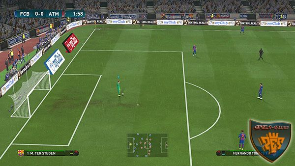 PES 2017 FMODS Pitch v2.2 by Fruits