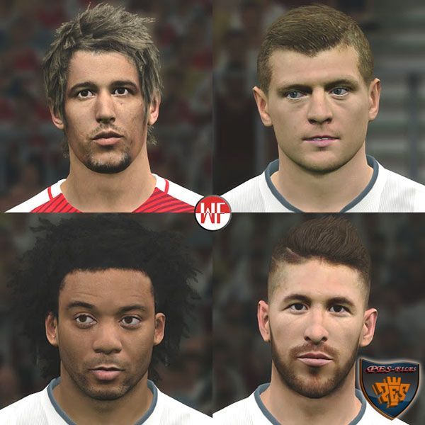 Real Madrid Facepack Pes 2016-17