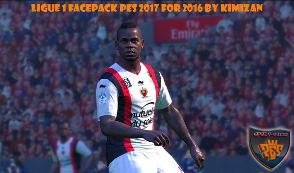 Ligue 1 Facepack PES 2017 For PES 2016 By Kimizan