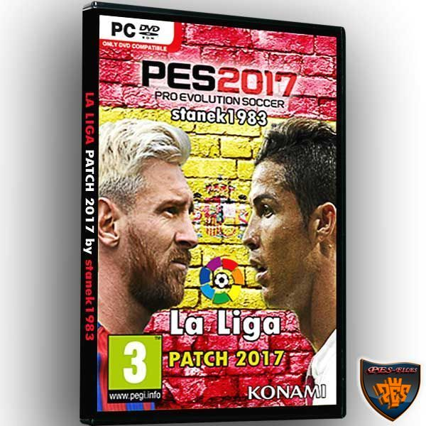 PES 2017 La Liga Patch Update v1.1 by stanek1983