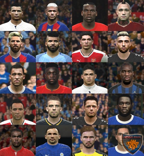 PES 2017 & 2016 PC Nuevo facepack by Jonathan facemaker
