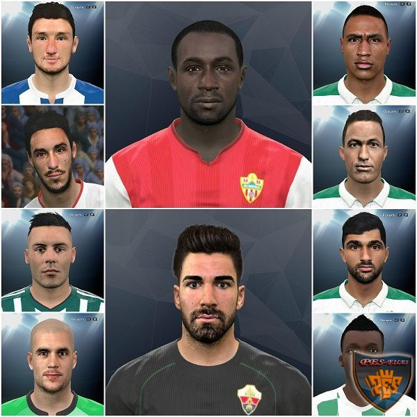 PES 2017 Internarional facepack vol. 6 by Kruptsev