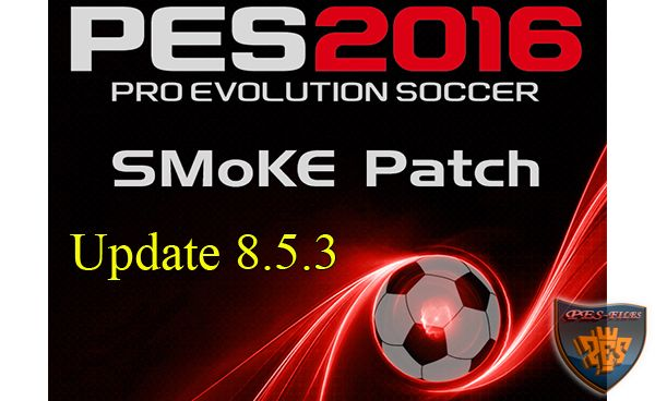 PES 2016 SMoKE Patch Update 8.5.3