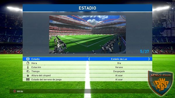 PES 2017 Stadium Super Pack (34 Stadiums)