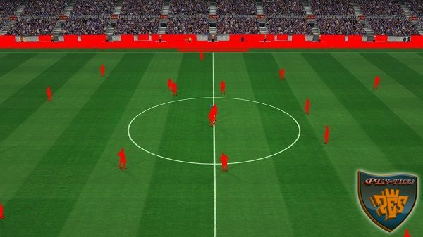 PES 2017 Pitch and Graphics HD FIX CampNou By Estarlen Silva, патчи