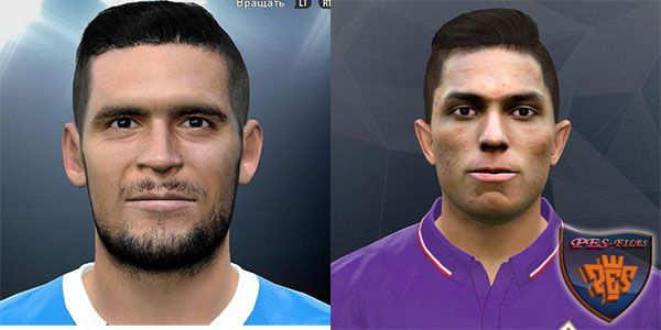 Pes 2017 Salcedo Hernández and Vincent Laurini Face