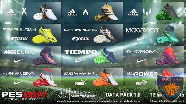 PES 2017 InMortal HD Boots & Gloves MOD by InMortal