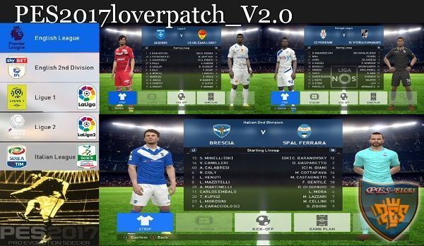 PES 2017 loverpatch 2.0 by PESlover