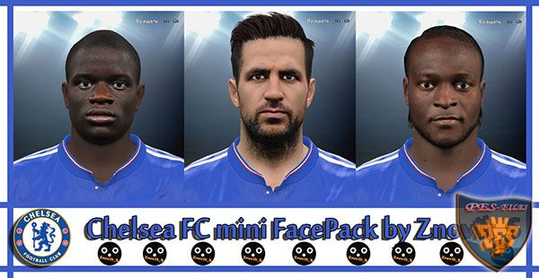 Pes 2016 Chealse FC Mini FacePack by Znovik_S