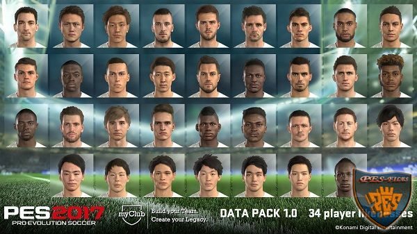 Facepack DLC 1.0 PES 2017 For PES 2016 by Kimizan