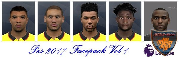 Pes 2017 Facepack Vol 1 by shaggyboss