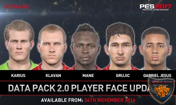 PES 2017 Facepack DLC 2.0 by kimizan