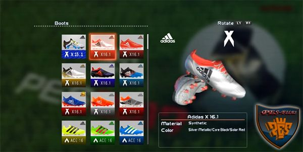 PES 2013 New Bootpack v3.0 2016/2017 HD