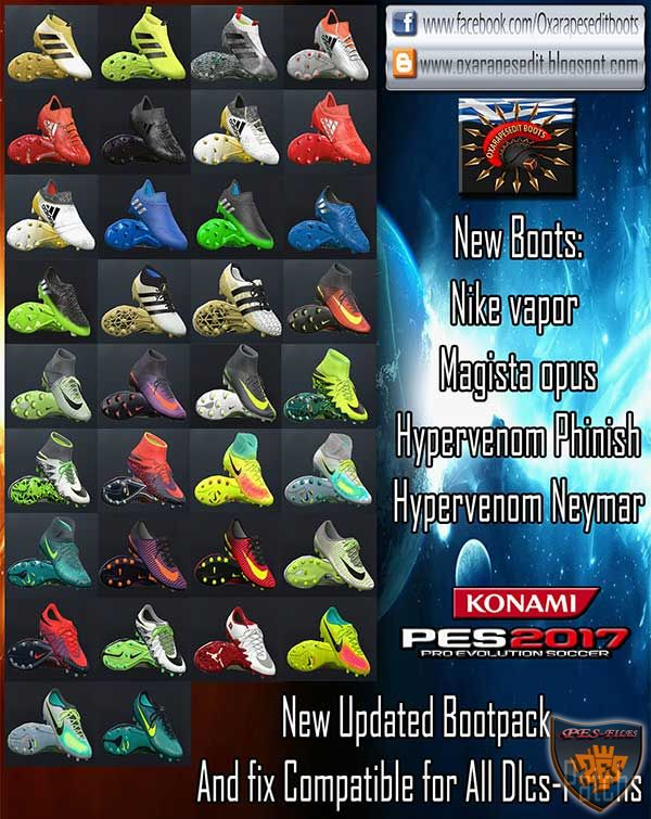 PES 2017 Updated Bootspack v3 by Oxarapesedit