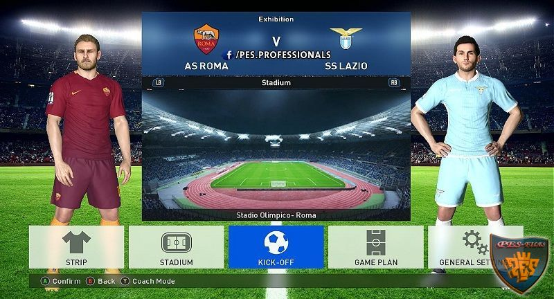 PESProfessionals Patch V2 For PES 2016 - PES Patch