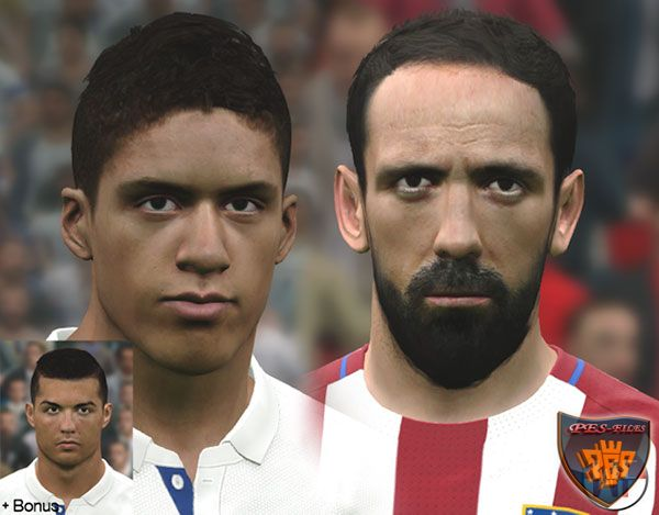PES 2017 Madrid Mini Facepack by WER Facemaker
