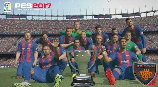 PES 2017 LaLiga Trophy by Ronito