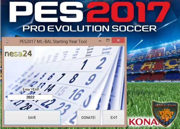 PES 2017 ML-BAL Starting Year Tool v1 by nesa24
