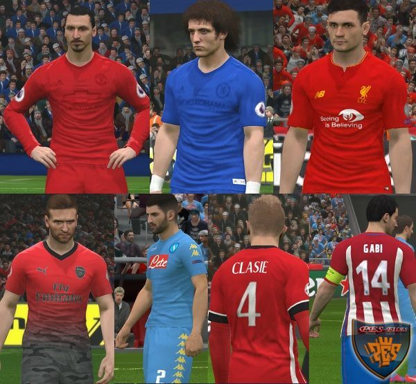 PES 2017 Full Kits Update by Ggblues