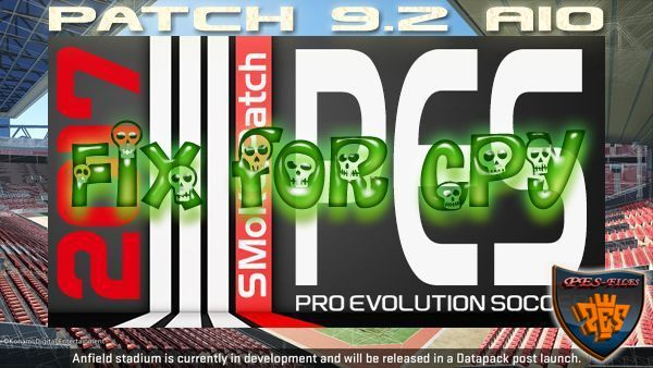 PES 2017 SMoKE Patch 9.2 Fix for CPY