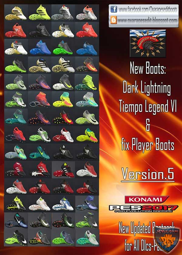 PES 2017 NEW UPDATED BOOTPACK VERSION.5
