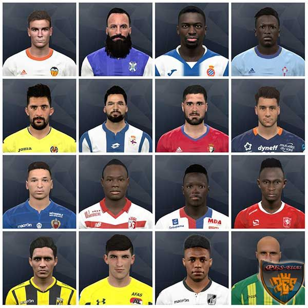 Pes 2017 Internarional facepack vol. 9 by Kruptsev