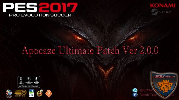 PES 2017 Apocaze Ultimate Patch Ver.2.0.0