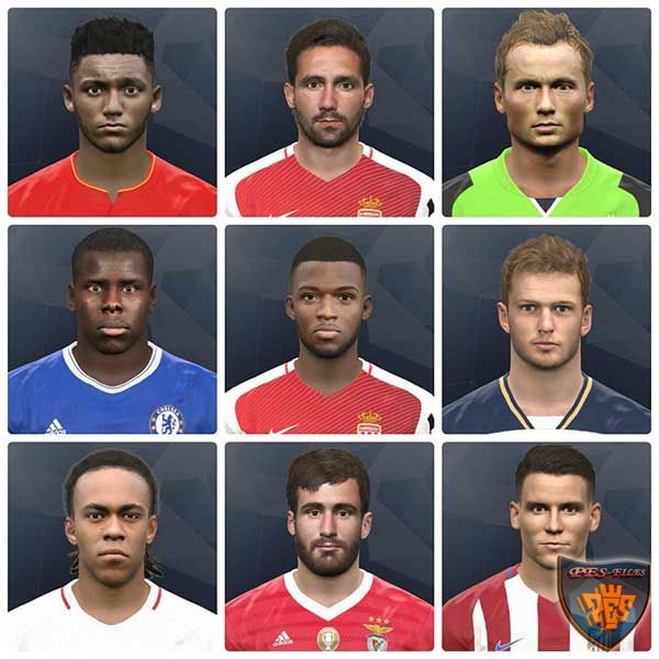 Pes 2017 International Facepack by bahty
