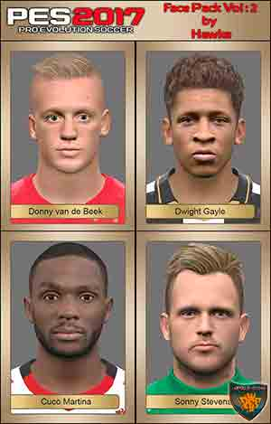 Pes 2017 Face Pack Vol: 2 by Hawke