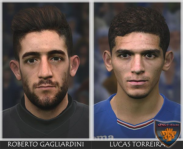 Pes 2017 Torreira and Gagliardini Face