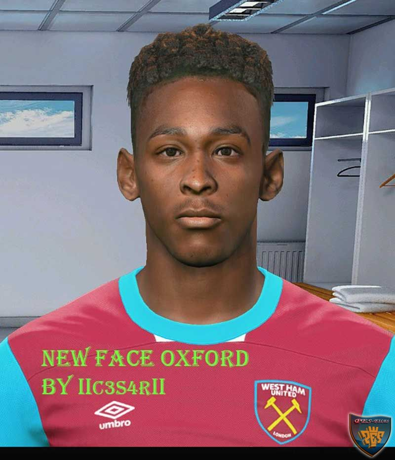 PES 2017 Reece Oxford Face by IIc3s4rII