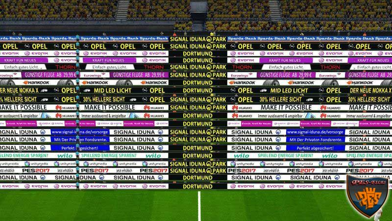 PES 2017 Pesgalaxy Adboards by chosefs