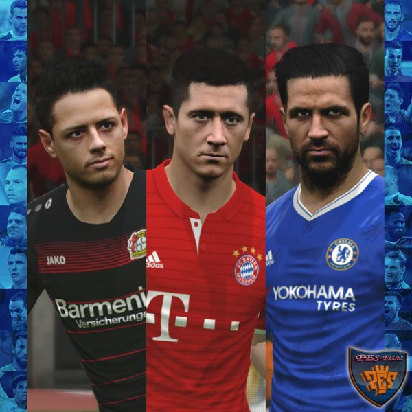 PES 2017 Facepack 2 by A.Mussoullini
