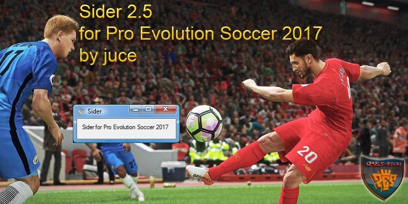 Sider 2.5 for Pro Evolution Soccer 2017 by juce