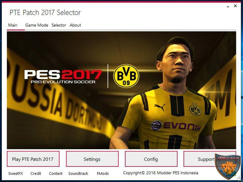 "PTE Patch 2017 Selector 3.1 ""Delay Update"""