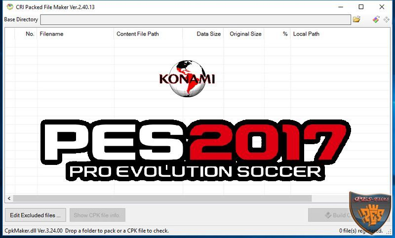 PES 2017 New Version CpkFileExplroer v2.40.13.0