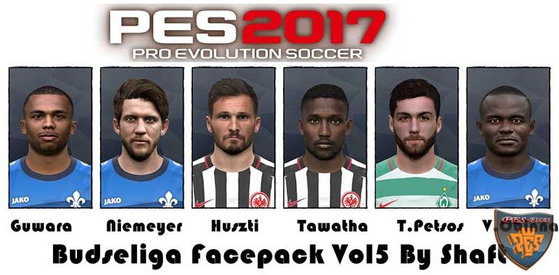Pes 2017 Bundesliga Facepack Vol 5 by Shaft