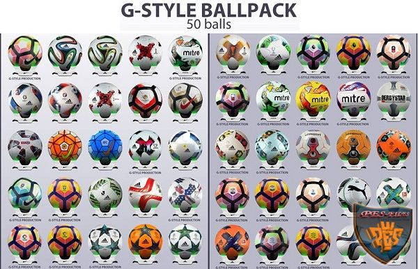 PES 2017 Ballpack Update v1.0 by G-Style