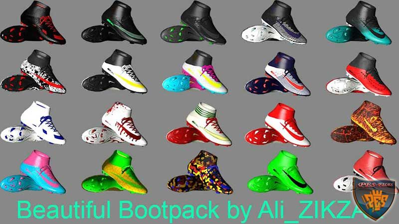 Beautiful Boot Pack For PES 2017 PC