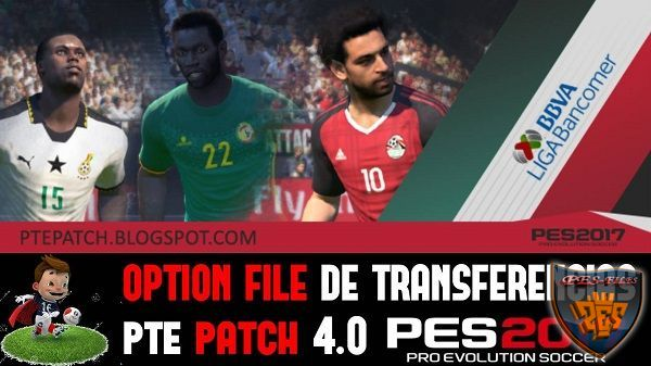 PES 2017 Option File Update Transfer for PTE 4.0 (01.02.17)