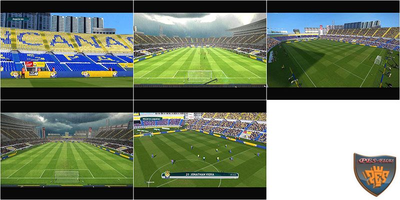 PES 2017 Gran Canaria Stadium Converted From PES 6