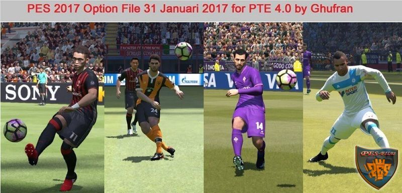 PES2017 Option File Update Transfer for PTE 4.0