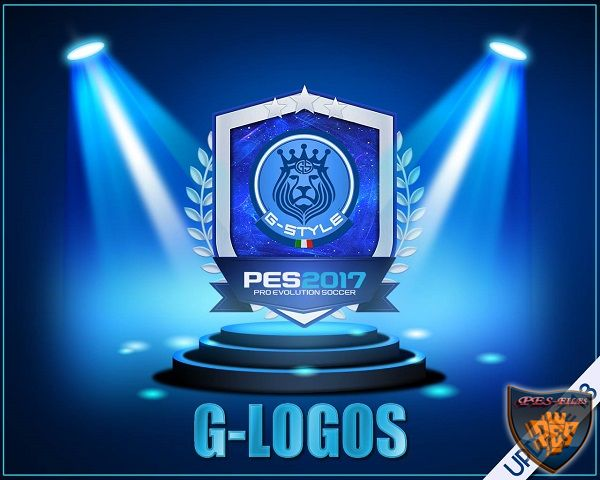 PES 2017 New HD Logos v1.3 by G-Style