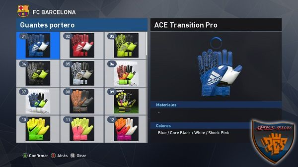 PES 2017 Glove Pack 2.7 by Various by Idk & Wens​
